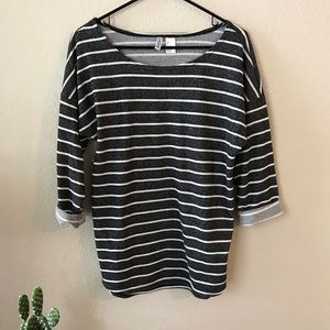 Divided by H&M Striped Top